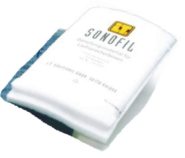 Dämpfungsmaterial Sonofil 20 ltr. weiß
