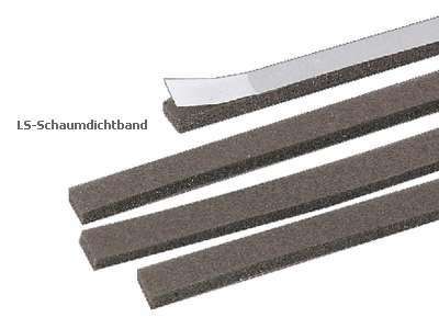 LS-Schaumdichtband (5 x 1,5 mtr.)